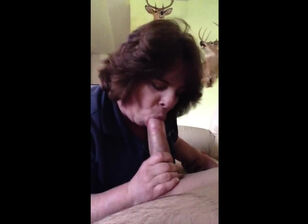 Mom sucking son cock
